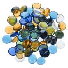 Набор круглых декоративных камней Микс