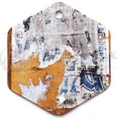 Бирка упаковочная Граффити
