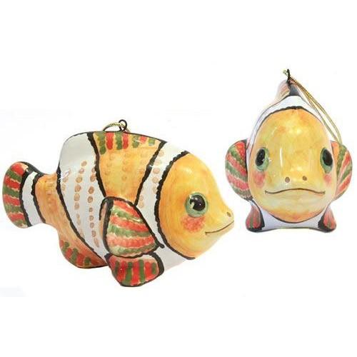 Елочная игрушка Рыбка-клоун