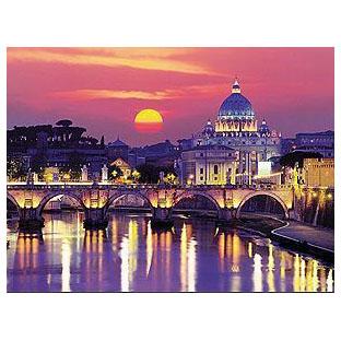 Пазл «Вечер в Риме»