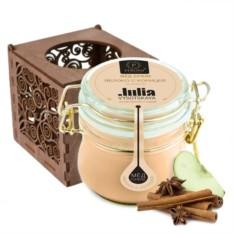 Мёд-суфле в подарочной коробке Корица с яблоком