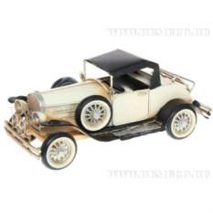 Металлическая модель автомобиля в стиле ретро