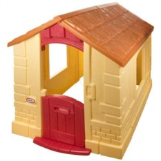 Желтый игровой домик LittleTikes