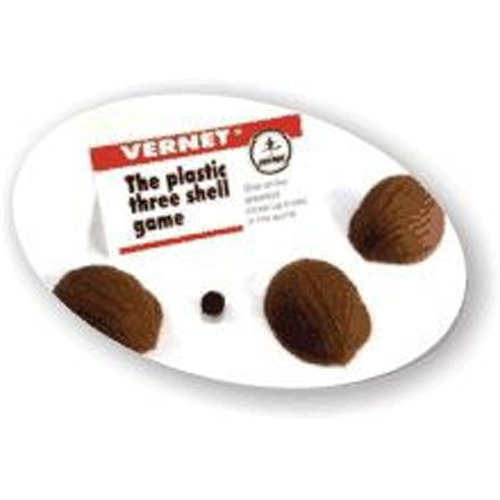 Три скорлупки от ореха