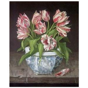 Картина «Розовые тюльпаны»