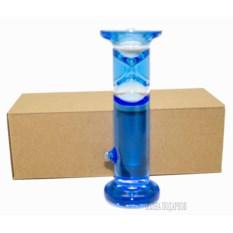 Жидкие песочные часы на 1 минуту высотой 15 см