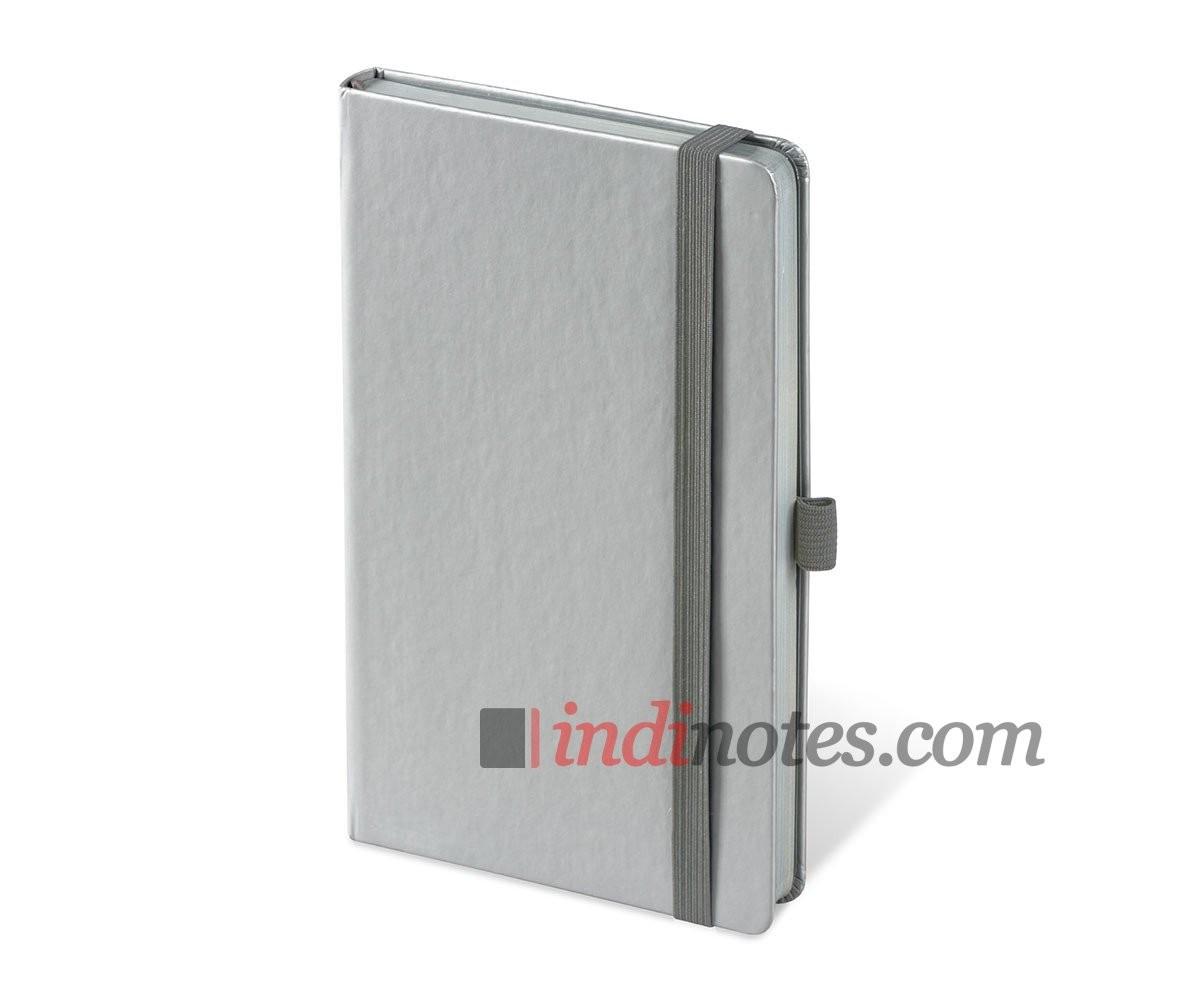 Записная книжка Brunnen Kompagnon Colour Code Silver A5