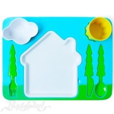 Детский поднос-сервиз Пейзаж Landscape