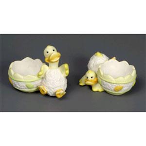 Подставка под яйцо «Весёлый утёнок»