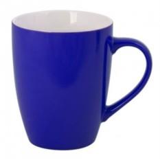 Синяя кружка Good morning