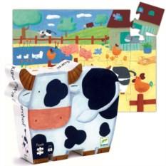 Пазл Djeco «Коровы на ферме»