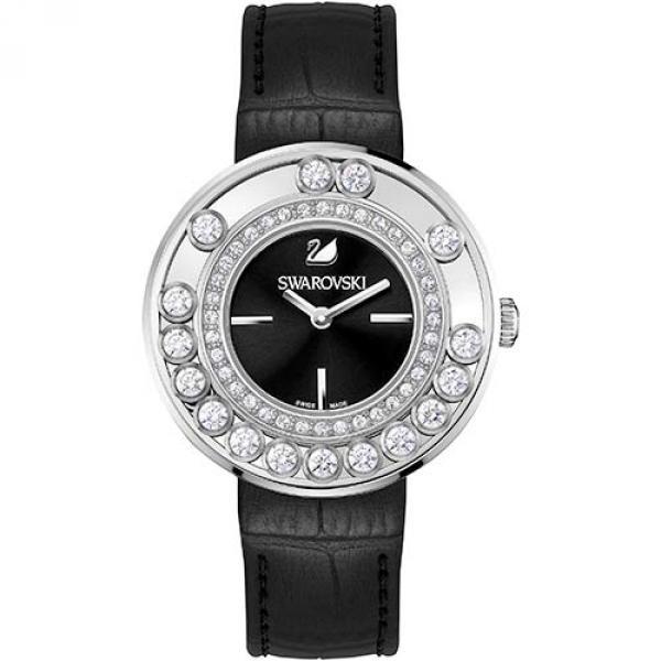 Часы Swarovski из нержавеющей стали Lovely Crystals Black