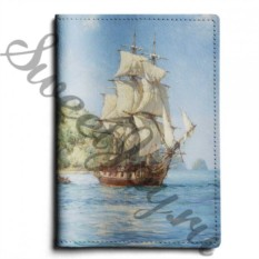 Кожаная обложка для паспорта Brigantine