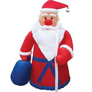 Дед Мороз надувной от Mister Christmas