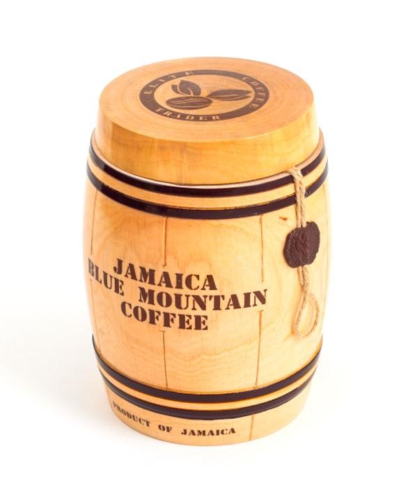 Кофе в деревянном бочонке