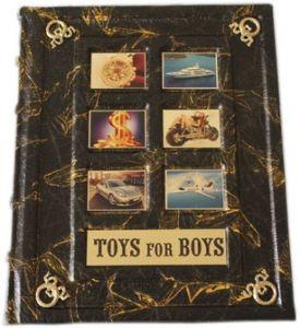 Подарочная книга Toys for boys