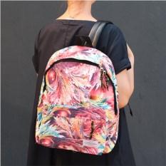 Розовый рюкзак Райская птица