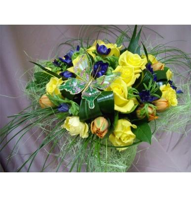 Букет из цветов №31