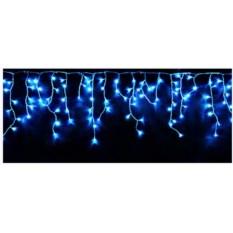 Уличная синяя электрогирлянда Световая бахрома