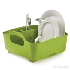 Зелёная cушилка для посуды Tub