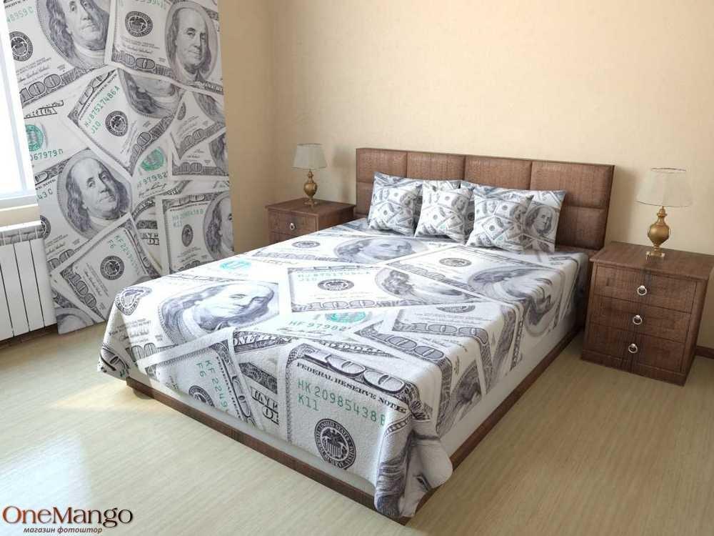 Фотопокрывало Деньги