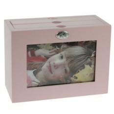Нежно-розовый архивный фотоальбом Moretto на 48 фото