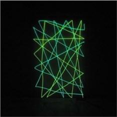 3D светильник Абстракция