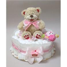 Торт из памперсов Малышка