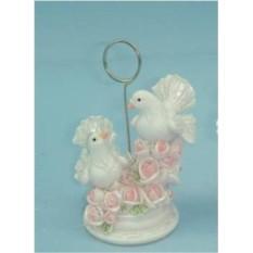 Держатель для гостевой визитки Свадебные голуби