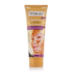 Золотая маска для лица Wokali Whitening Gold Caviar Peel Off