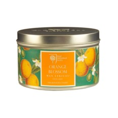 Ароматическая свеча Цветок апельсина в металле