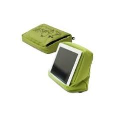 Зеленая подушка-подставка с карманом для планшета Hitech 2