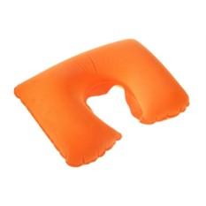 Дорожная надувная оранжевая подушка