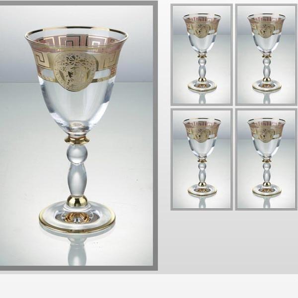 Набор фужеров для вина Медуза