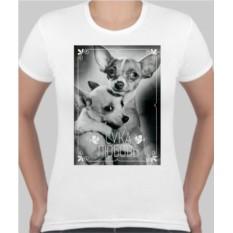 Женская футболка Сука любовь