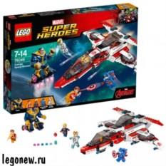 Конструктор Лего Супер Герои. Реактивный самолёт Мстителей