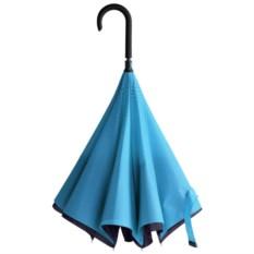 Сине-голубой зонт-трость «Наоборот»