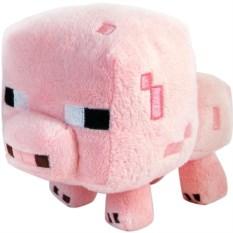 Плюшевая игрушка Поросёнок (Minecraft, 16см)