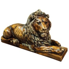 Декоративная фигура Коричневый лев
