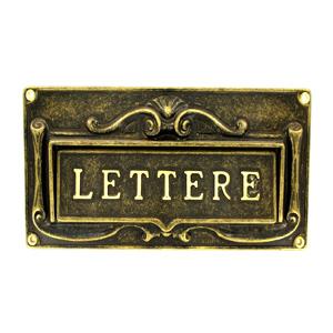 Почтовая накладка на дверь