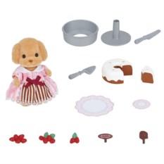 Игровой набор Sylvanian Families Украшения тортиков