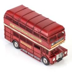 Ретро-модель Лондонский автобус с 2 фоторамками и копилкой