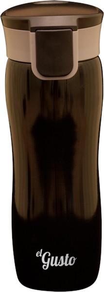 Термокружка elGusto «Corsa» черная, 470 мл