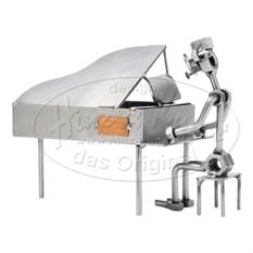 Статуэтка из металла Пианист