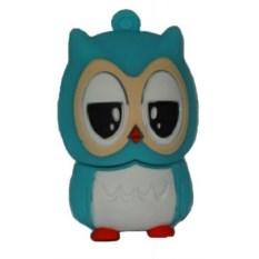 Флешка Голубая сова
