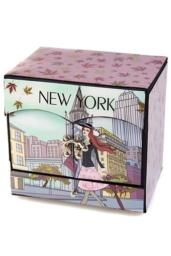 Шкатулка для ювелирных украшений Прогулка по Нью-Йорку