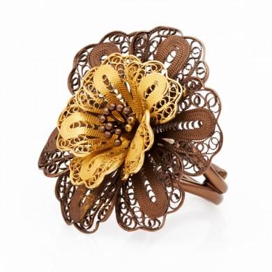 Кольцо  «Jour de fleur» (Ажур де Флёр)