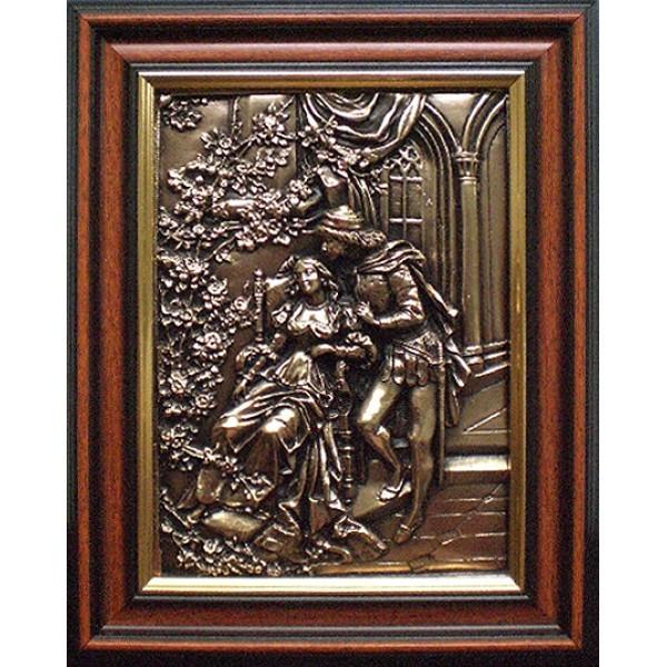 Картина из металла Ромео и Джульетта
