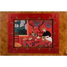 Картина из кожи Красная комната Анри Матисс.