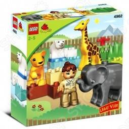 Конструктор - Lego Зоопарк Для Малышей